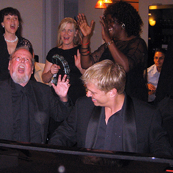 The Joy Of Singing Along with a Good Piano Player, JD Sebastian playing at a private party in Laguna Beach, California